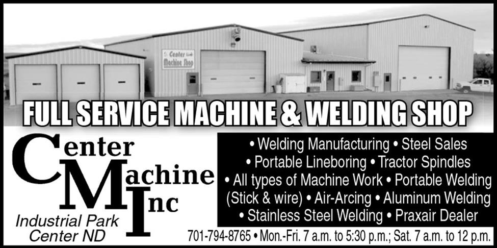 center machine inc